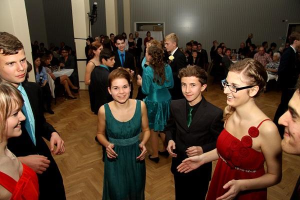 Abschlussball Tanzschule