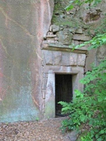 Eingang zum Bergkeller