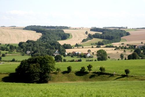 Landschaft bei Rochlitz