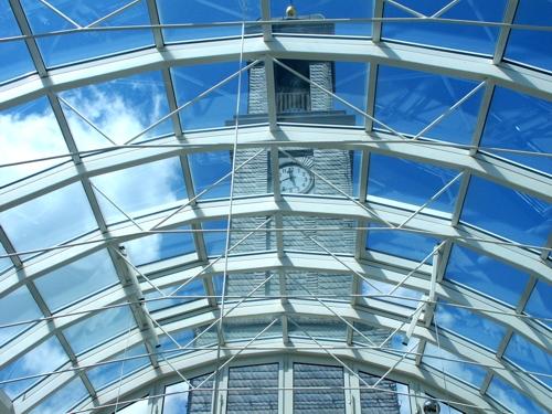 Lichtkuppel im Rathaus