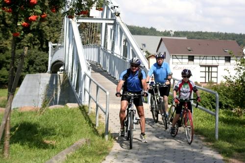 Radwandern im Muldental