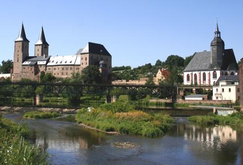 Schloss und St. Petrikirche