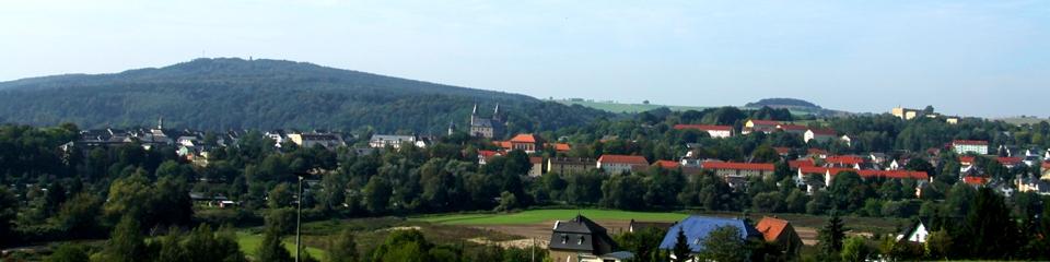 Blick auf den Rochlitzer Berg